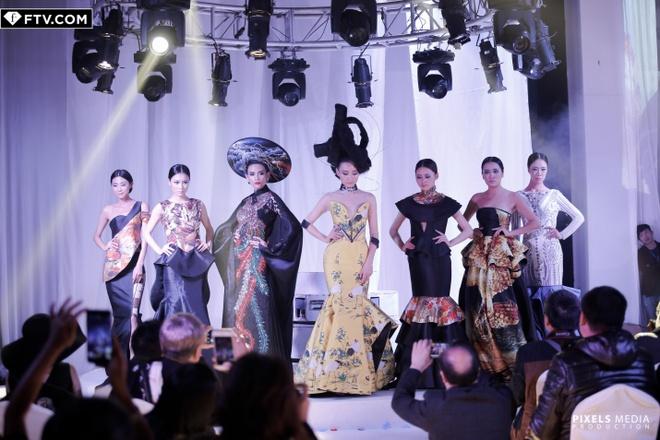 Vo Hoang Yen do dang ben quan quan Top Model Asia Award hinh anh 2