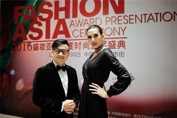 Vo Hoang Yen do dang ben quan quan Top Model Asia Award hinh anh 3