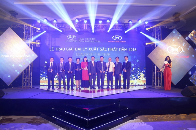 Hyundai Thanh Cong vinh danh dai ly tieu bieu 2016 hinh anh 3
