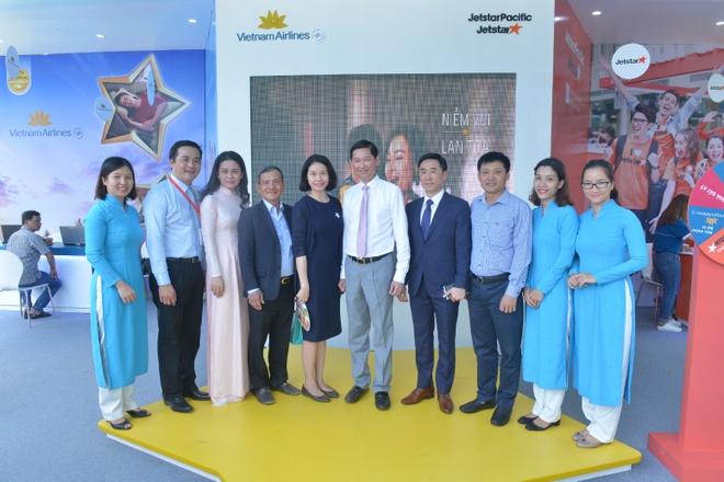 Vietnam Airlines va Jetstar Pacific tham gia Ngay hoi Du lich TP.HCM hinh anh 1