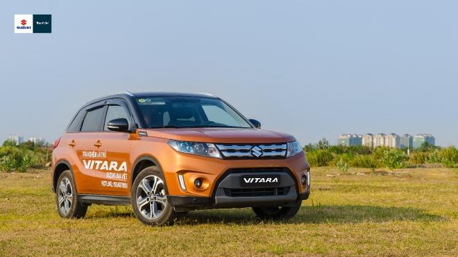 Suzuki Vitara 2016 - doi thu nang ky trong phan khuc SUV do thi hinh anh 1