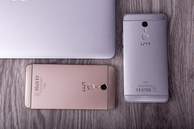 Smartphone UM MAX cau hinh cao, ket noi mang nhanh, pin khoe hinh anh 4
