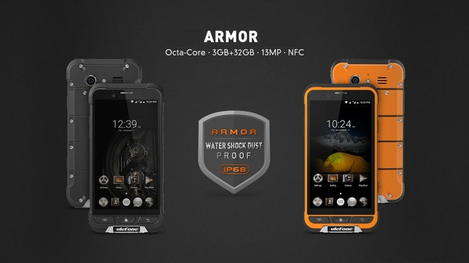 Armor - smartphone tam trung chong nuoc, roi vo chuan IP68 hinh anh 1