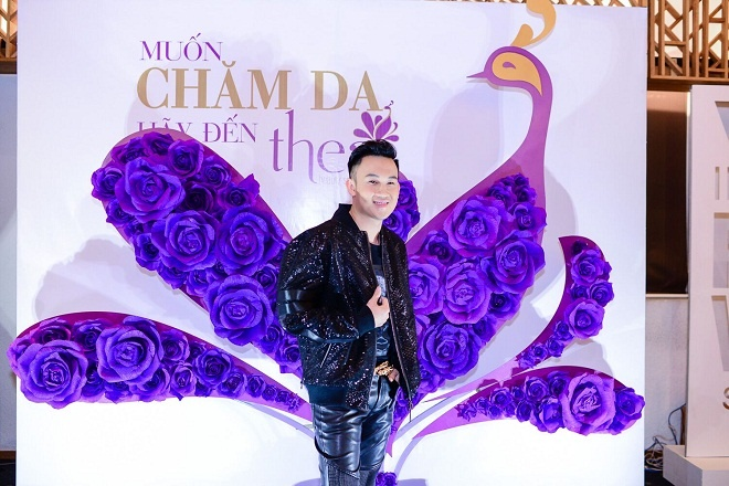 TGD Thea Beauty Solutions hoi ngo dan sao Viet tren tham do VIFW 2017 hinh anh 5