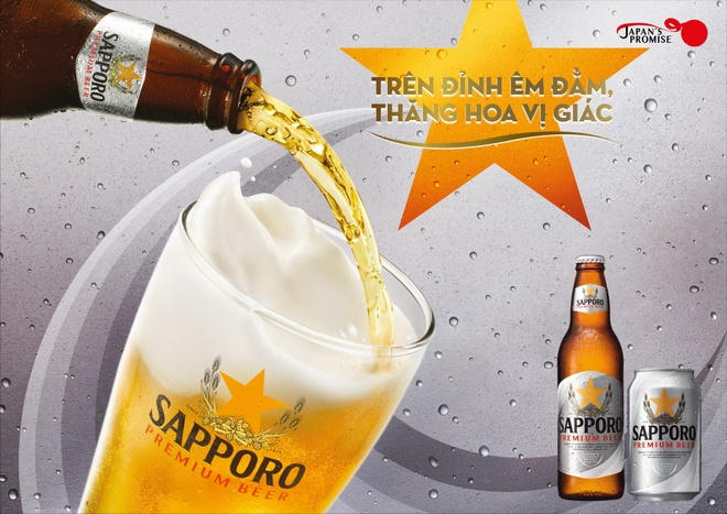 Sapporo Premium Beer anh 2