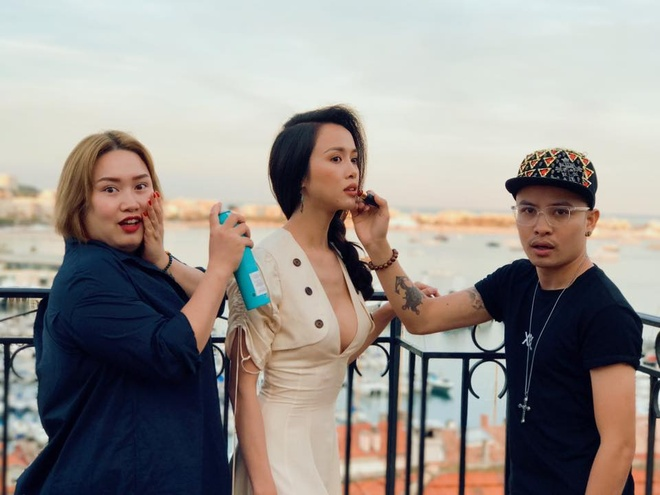 Hoang Hien - chuyen gia trang diem theo xu huong 'sang chanh' hinh anh 2