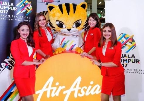 Thu tai trac nghiem SEA Games, nhan ve may bay AirAsia hinh anh