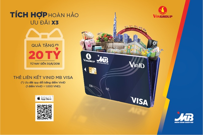 Ra mat the lien ket VinID-MB Visa voi tinh nang '2 trong 1' hinh anh 2
