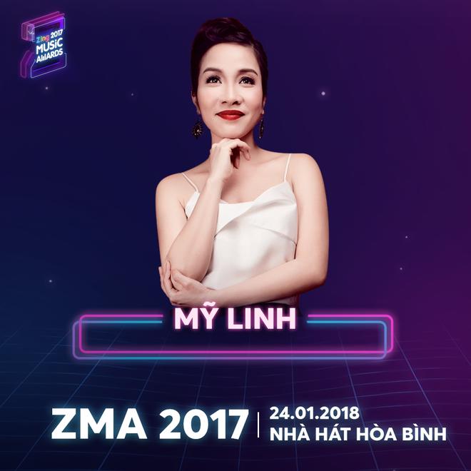 Hong Nhung, Thu Phuong va My Linh hoi ngo o le trao giai ZMA 2017 hinh anh 2