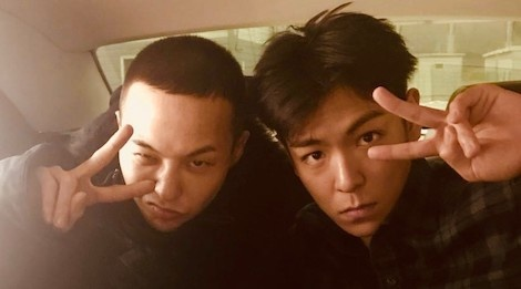 T.O.P dua G-Dragon di nhap ngu, om chia tay day tinh cam hinh anh