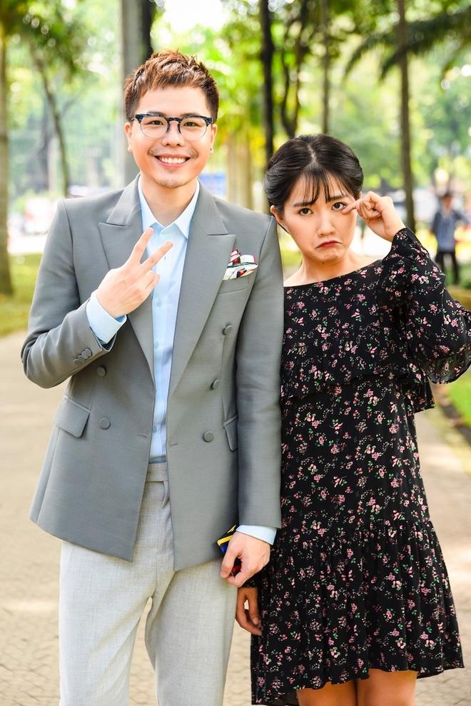 Sau khi chia tay Cuong Do La, Ha Vi dong phim 'Ong ngoai tuoi 30' hinh anh 2