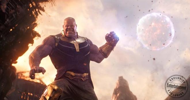 Ac nhan Thanos trong 'Avengers: Infinity War' bi che giong hinh nom hinh anh