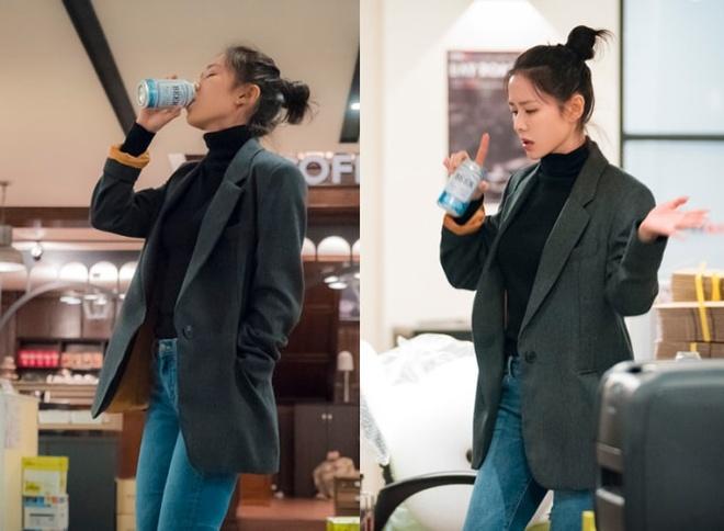 Son Ye Jin mac chat nhu the nao trong 'Chi dep mua com ngon cho toi' hinh anh 10