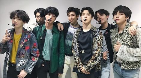 BTS dap lai loi chuc mung dung dau Billboard cua Tong thong Han Quoc hinh anh