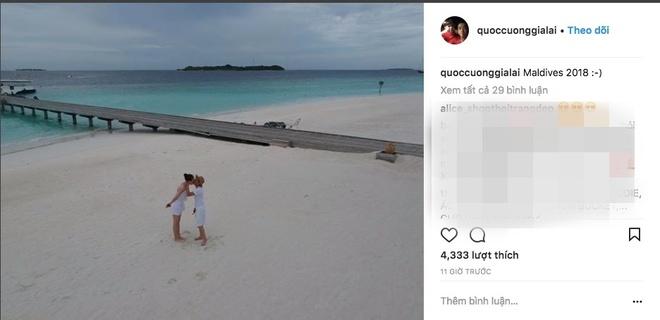 Cuong Do La chup anh cuoi cung Dam Thu Trang tai Maldives? hinh anh 1