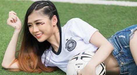Nguoi dep Hoa hau Ban sac toan cau: 'Duc se thang Han Quoc 4-1' hinh anh