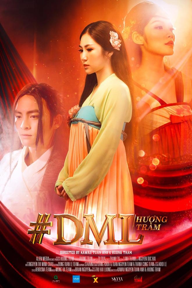 Huong Tram theo duoi trao luu co trang trong MV moi hinh anh 1
