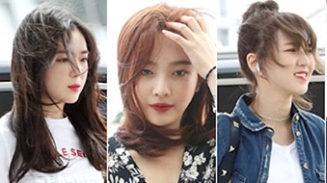 Red Velvet xinh dep noi bat, lan at dan sao nam Kpop tai san bay hinh anh