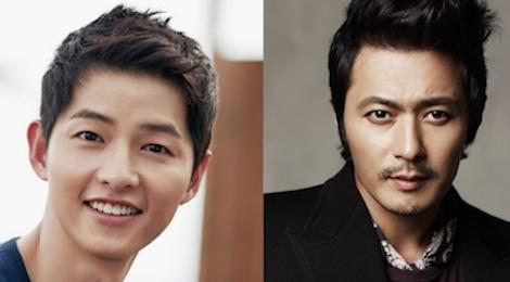 Song Joong Ki doi dau Jang Dong Gun trong bom tan co trang moi hinh anh