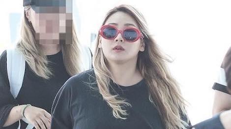 CL (2NE1) tang can khong kiem soat, than hinh nang ne hinh anh