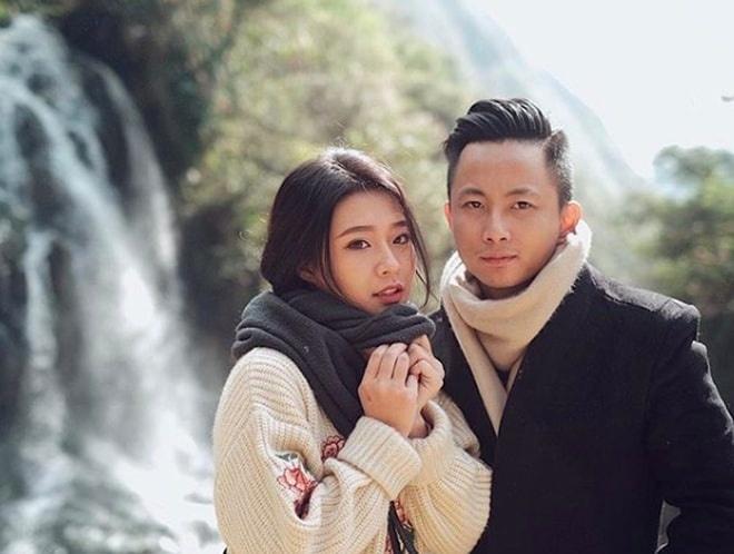 Chu nhan hit 'Yeu 5' to chuc le an hoi voi ban gai xinh dep hinh anh 4