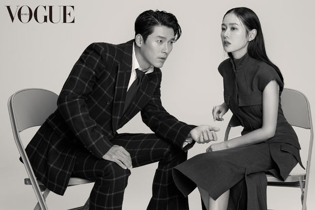 Son Ye Jin va Hyun Bin khoe nhan sac tuong tac, than mat tren tap chi hinh anh 4