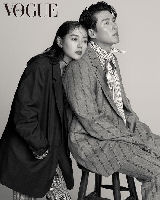 Son Ye Jin va Hyun Bin khoe nhan sac tuong tac, than mat tren tap chi hinh anh 5