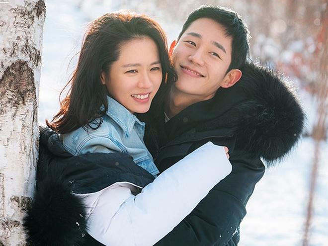 Son Ye Jin va Hyun Bin khoe nhan sac tuong tac, than mat tren tap chi hinh anh 7