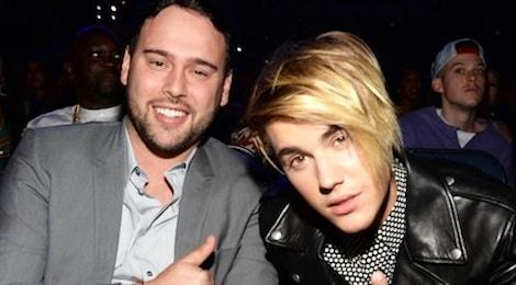 Ong bau cua Justin Bieber san xuat phim ve Kpop hinh anh