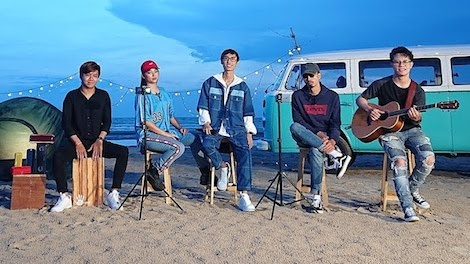 MV Rap Acoustic 4 - Den, Lynk Lee va Kimmese hinh anh