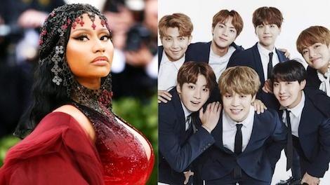 BTS xac nhan hop tac voi Nicki Minaj trong ca khuc chu de moi hinh anh