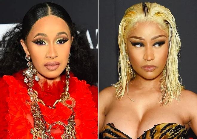Nicki Minaj va Cardi B danh nhau giua su kien thoi trang hinh anh 1