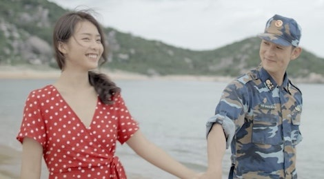 'Hau due mat troi' Viet tung MV nhac phim lang man hinh anh