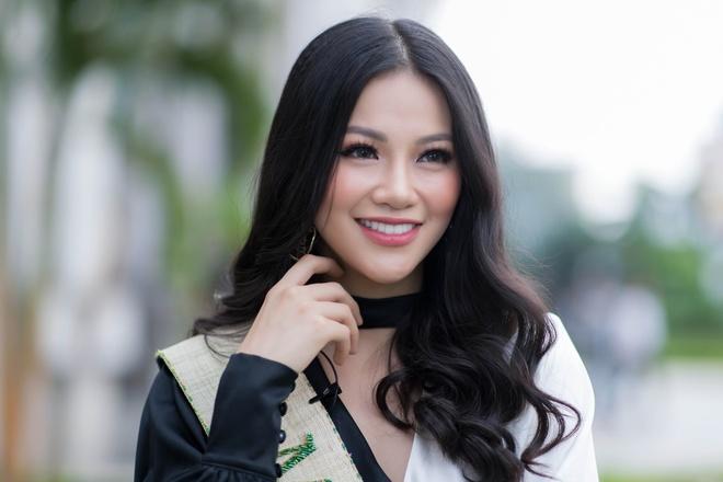 Nhan sac rang ro cua Hoa hau Trai dat Phuong Khanh hinh anh