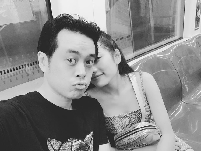 Duong Khac Linh va ban gai kem 13 tuoi thoai mai tinh tu tren MXH hinh anh 2