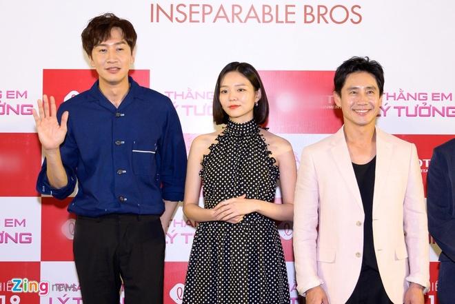 Kwang Soo (Running Man) banh bao trong buoi ra mat phim o Sai Gon hinh anh 8