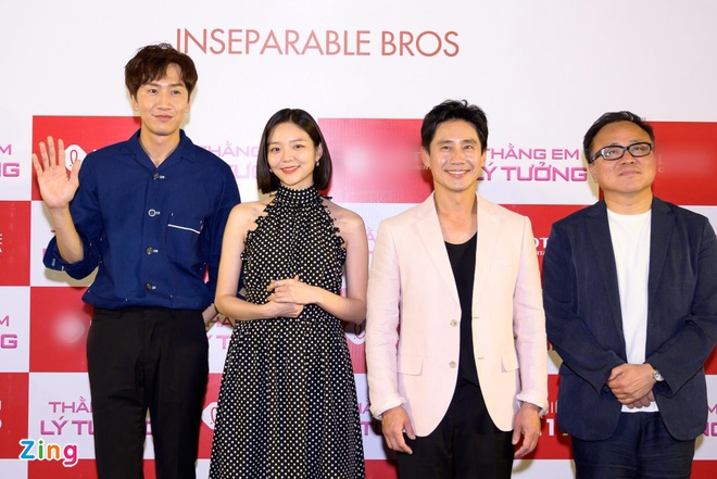 Kwang Soo (Running Man) banh bao trong buoi ra mat phim o Sai Gon hinh anh 9