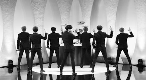BTS tai hien hinh anh The Beatles hinh anh