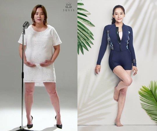 My nhan Kpop doi dau giam 27 kg, lay lai voc dang quyen ru thoi tre hinh anh 2