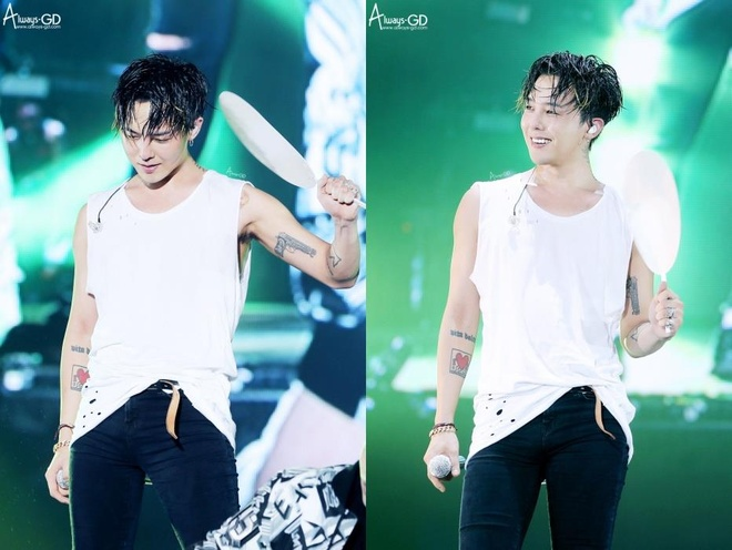 Stylist tung loat anh cao toc, trang diem ki quai cua G-Dragon hinh anh 8