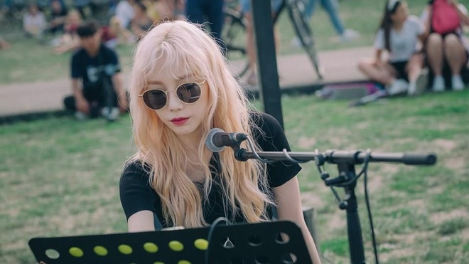 Tae Yeon (SNSD) cover hit 'Bad Guy' theo phong cach moi hinh anh