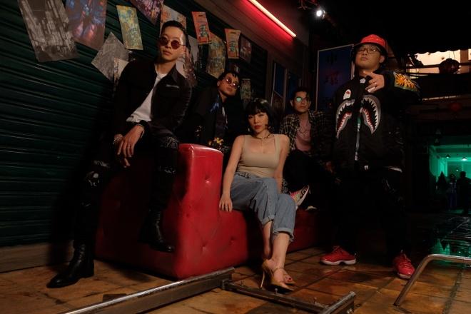 Tóc Tiên có hit mới dù chỉ góp giọng trong ca khúc của Da LAB