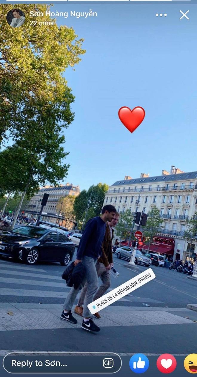 Soobin Hoang Son va ban gai tin don cung co mat o Paris hinh anh 1