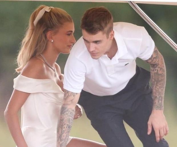 Justin Bieber lay lai ve ngoai phong do trong ngay cuoi hinh anh 4
