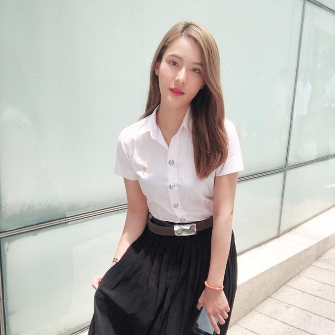 Ban gai nguoi Thai xinh dep nhu minh tinh dien anh cua Quang Hung hinh anh 2