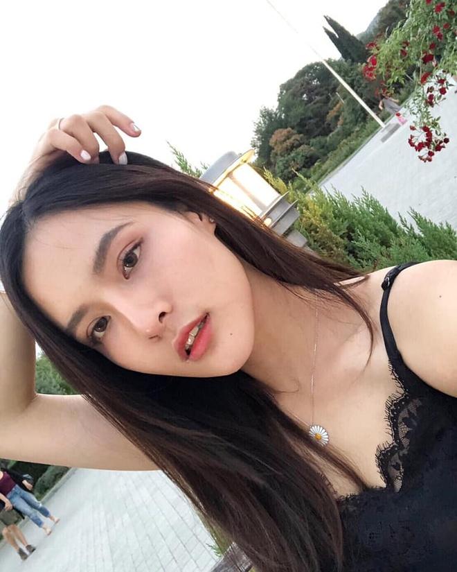 Ban gai nguoi Thai xinh dep nhu minh tinh dien anh cua Quang Hung hinh anh 1