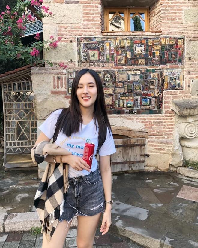 Ban gai nguoi Thai xinh dep nhu minh tinh dien anh cua Quang Hung hinh anh 4