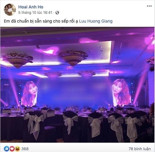 Ho Hoai Anh - Luu Huong Giang van tinh cam tren mang xa hoi du ly hon hinh anh 3