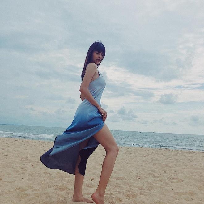 Voc dang goi cam cua dien vien Thanh Tu hinh anh 16
