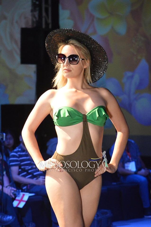 Thi sinh Hoa hau Trai dat lo nhieu nhuoc diem hinh the khi mac bikini hinh anh 5